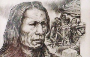 Robert King's Native American Drawings