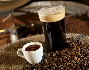 coffee and beer collaboration at bipartisan cafe