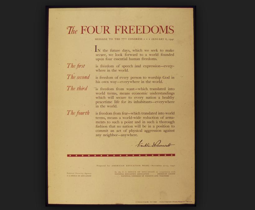 four freedoms essay