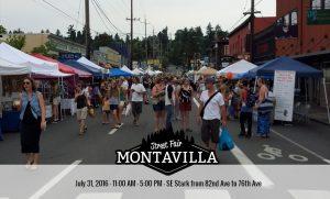 montavilla street fair portland oregon