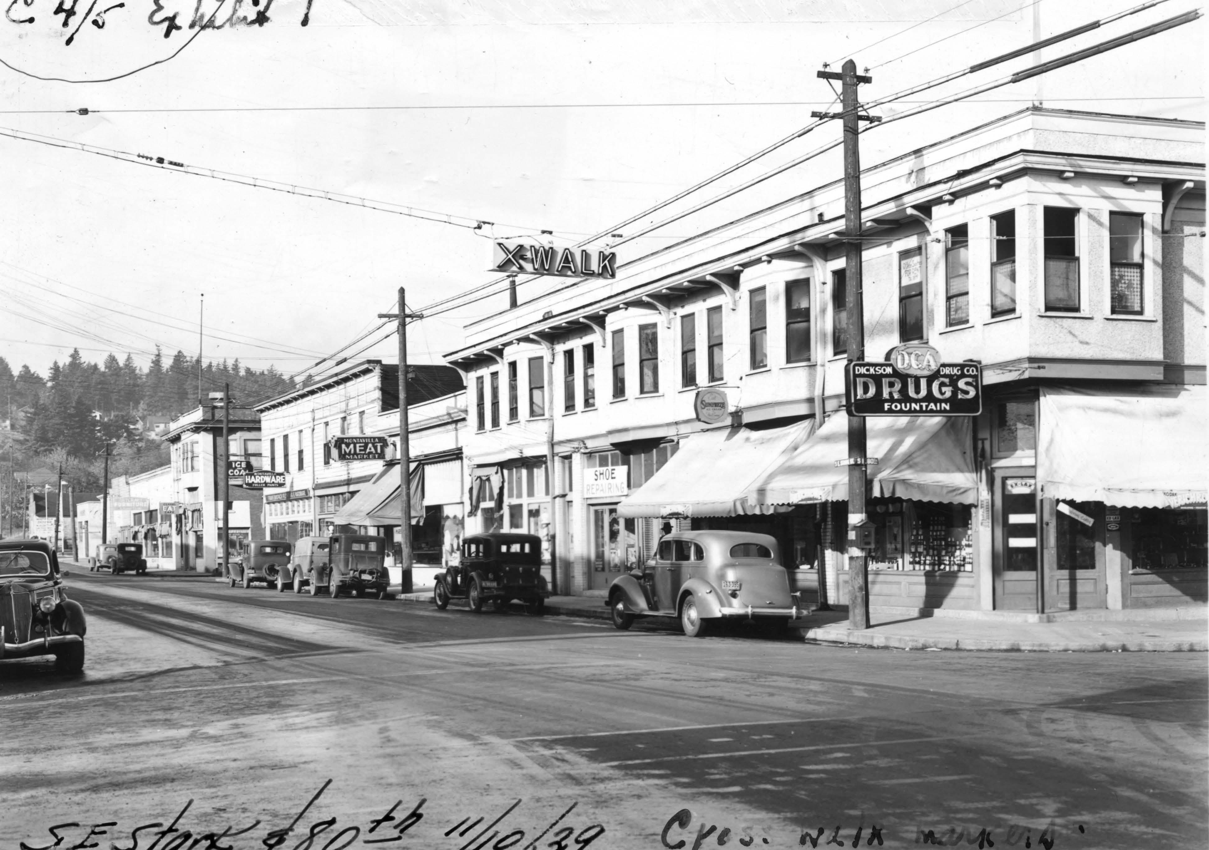 Portland Montavilla neighborhood history