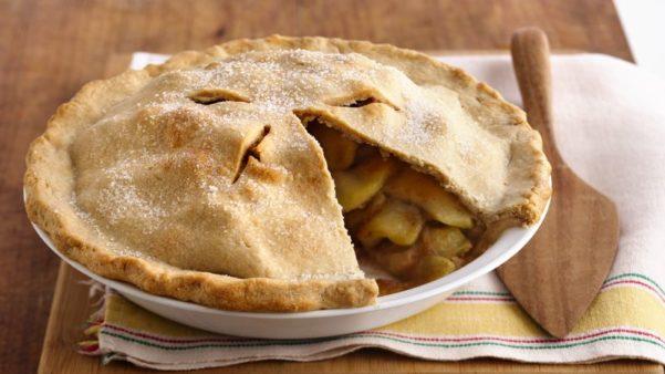 Apple Pie at BiPartisan Cafe